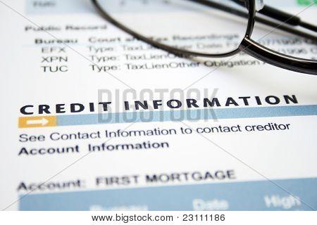 Formulário de crédito
