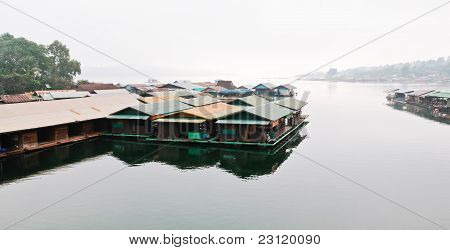 Houseboat On The Reservior