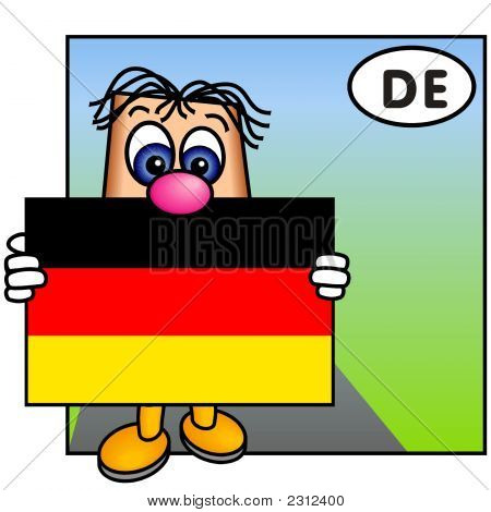 'Paley' Showing The Flag Of Germany