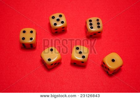 Old Gambling Dice