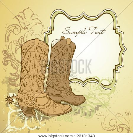 Old Cowboy boots