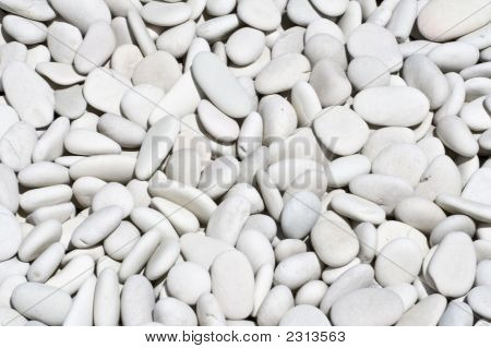 White Stone Background