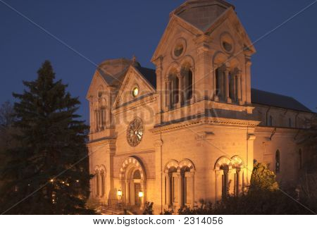 Cathedral Basilica Of St-Francis In Santa Fe