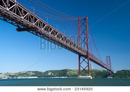 April 25th bridge in Lisbon