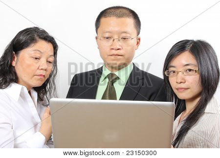 3 Chinese Businesspeople