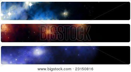 Indicador de Banner do cabeçalho Stardust