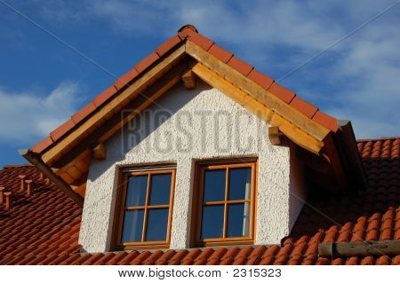 Modern German House Close-Up