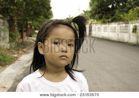 Asian lady children