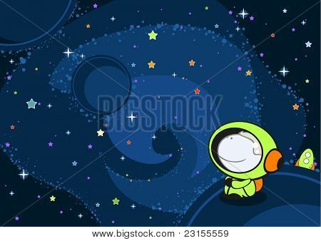 Astronaut (raster version)