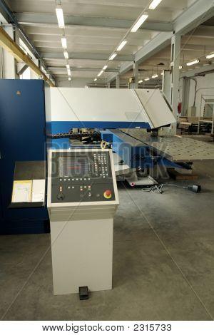 Punching Machine And Work Conveyor