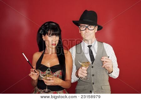 Suspicious Couple