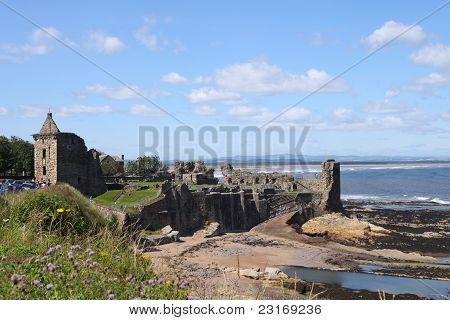 Ruins Of St. Andrews Castle