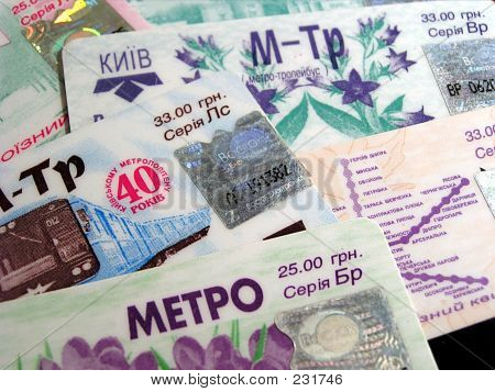 Kiev Metro Monthly Passes