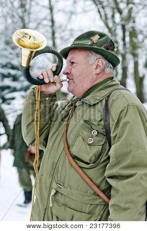 portrait of hunter