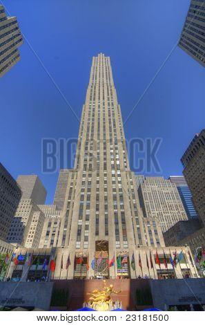Ge Building At Rockefeller Center