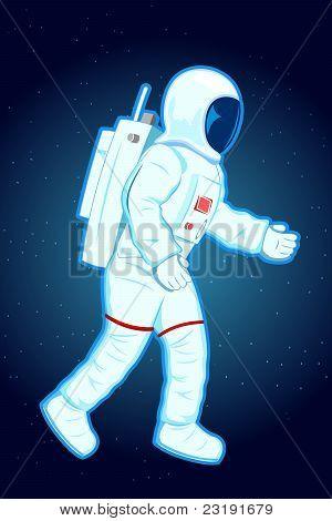 astronaut in spacesuit