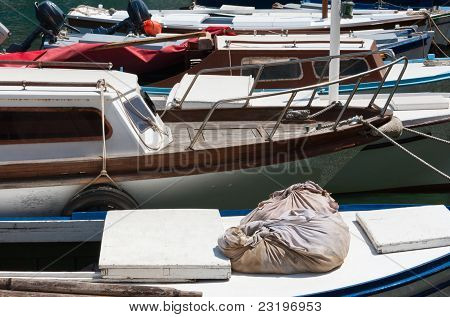 Boats At Harbor