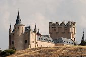 The Famous Alcazar Of Segovia