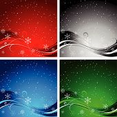 Christmas Backgrounds.Eps