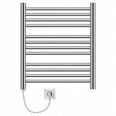 Domestic Heater Mockup. Realistic Illustration Of Domestic Heater Vector Mockup For Web poster