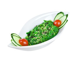 pic of chucky  - Salad from sea seaweed  - JPG
