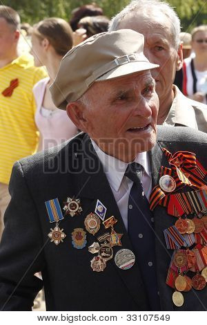 Soviet Army Veteran