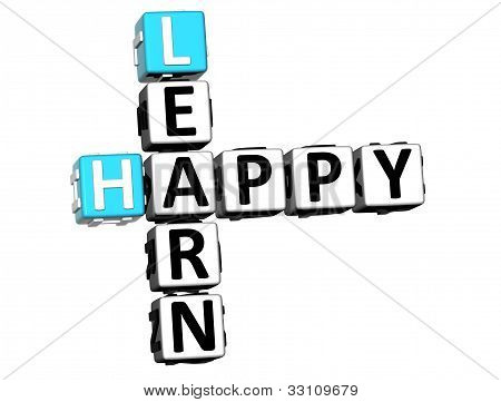 3D Happy Learn Crossword