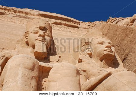 Abu Simbel Temple of King Ramses II,