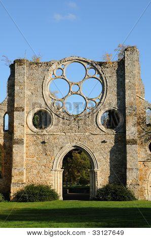 France, Yvelines,  Les Vaux De Cernay Abbey