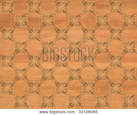 Faux Wood Marquetry #4