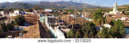 Old Town Trinidad, Cuba,  Panorama (1)