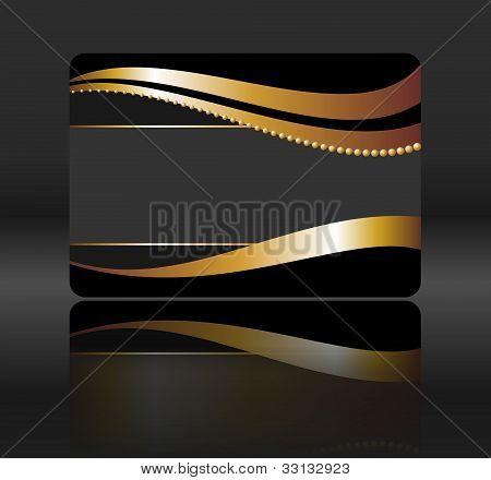 black gift card
