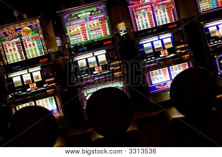 Slot Machines, Las Vegas, Nevada