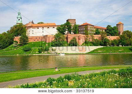 Wawel - Royal castle in Cracow, Poland