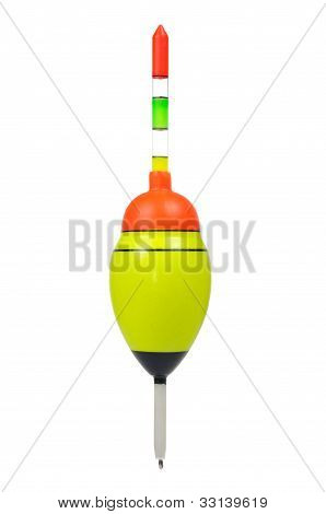 Fishing Float Isolated On White Background