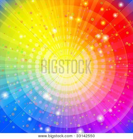 Background abstract rainbow