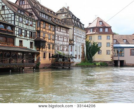 Historic houses in Strasbourg
