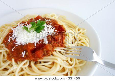 Comida italiana - espaguete