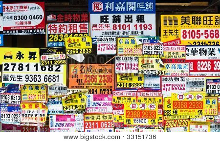 Property Advertising In Hong Kong