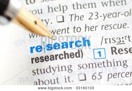 Research - Dictionary Series