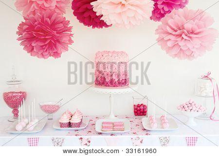 Dessert-Tabelle