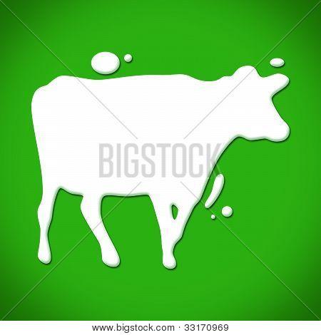 Milkdrops Cow