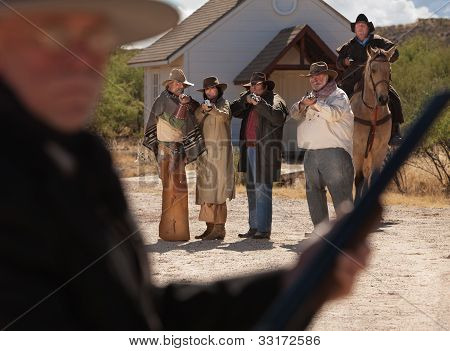 Six Old West Outlaws