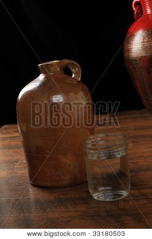 Jug Of Moonshine Whiskey
