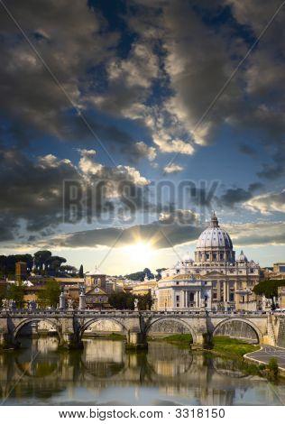 Ciudad del Vaticano en la mañana