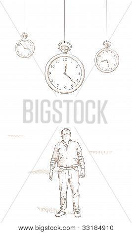 Clocks Suspended
