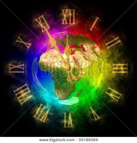 Cosmic Clock - Optimistic Future On Earth - Europe
