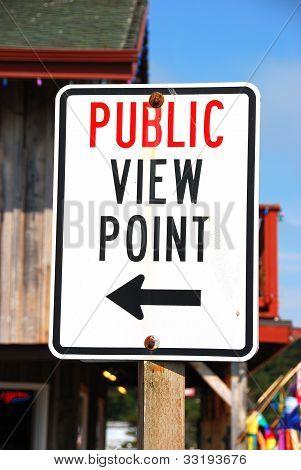 Vista pública