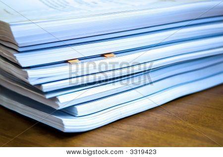 Piles Of Documents