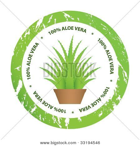 Special Aloe Vera Stickers For Your Business